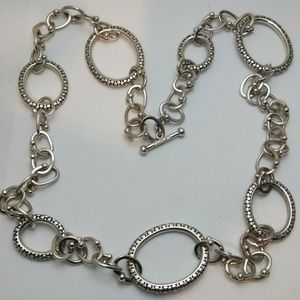 Michael Dawkins Sterling Silver Chain Necklace